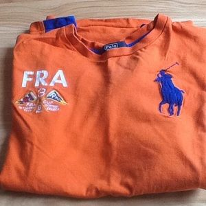 Polo France nautical race shirt